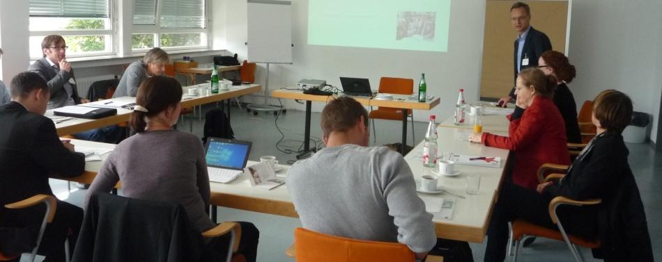 Unternehmen für den Marktplatz gewinnen: Erfahrungsaustausch am 13. September 2012 in Frankfurt