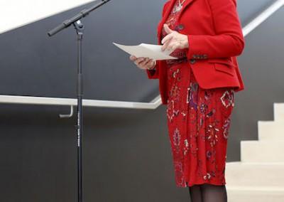 Eröffnung durch die Bürgermeisterin